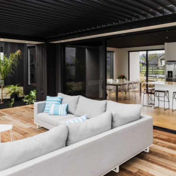 Premium quality louvres new zealand-NZ Louvres-outdoor seating louvres close up